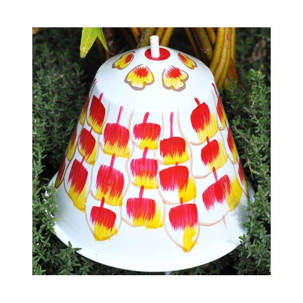 Snegleklokke. rød-gul