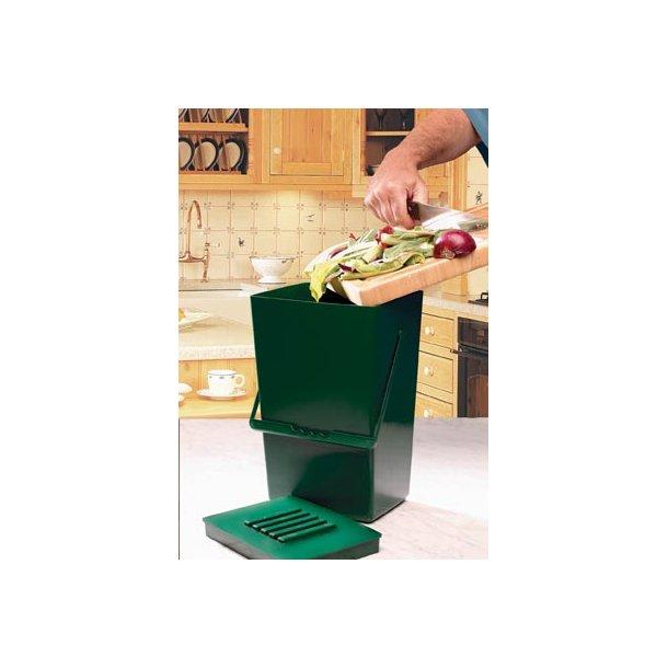 Kompostbeholder. Lugtfri